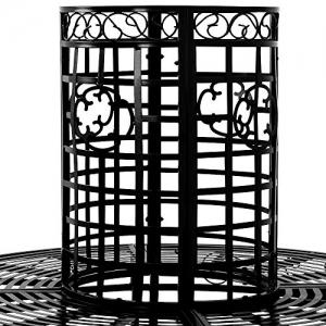 Baumbank 360° Metall,