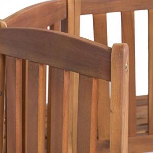 Baumbank halbrund OUTLIV Detail