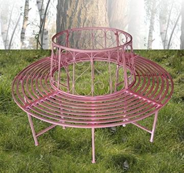 Baumbank in Pink von Colourliving